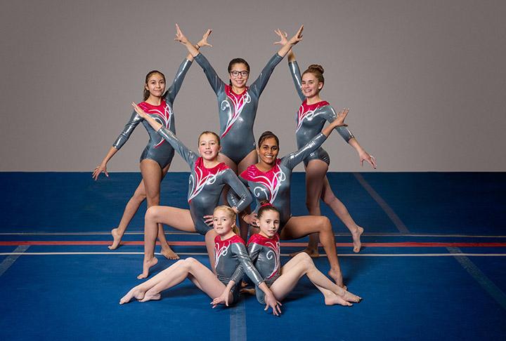 level 6 gymnastics meet january 2016